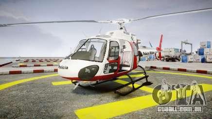 Eurocopter AS350 Ecureuil Aguia 11 PMESP para GTA 4