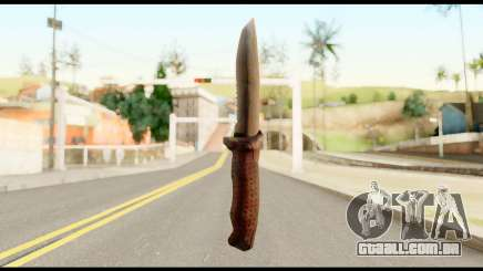 BB Cqcknife from Metal Gear Solid para GTA San Andreas