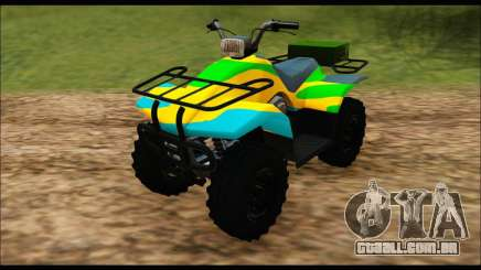 ATV Color Camo Army Edition para GTA San Andreas