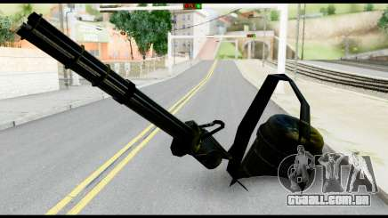 Raven Vulcan Gun from Metal Gear Solid para GTA San Andreas