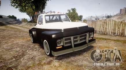 Vapid Towtruck Restored striped tires para GTA 4