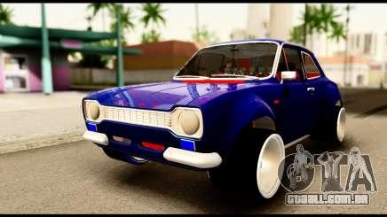 Ford Escort MK1 Modifive para GTA San Andreas
