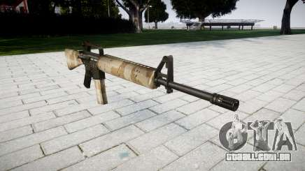 O M16A2 rifle de nevada para GTA 4