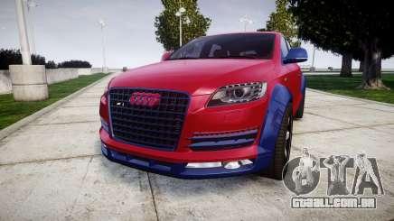 Audi Q7 2009 ABT Sportsline para GTA 4