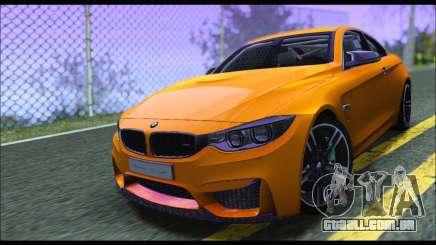 BMW M4 F80 Coupe 1.0 2014 para GTA San Andreas