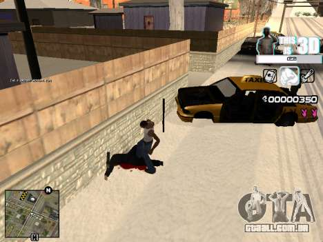 C-HUD 3D para GTA San Andreas segunda tela