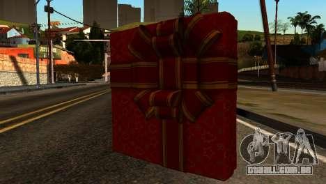New Year Remote Explosives para GTA San Andreas