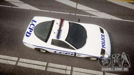 Invetero Coquette Police Interceptor [ELS] para GTA 4 vista direita