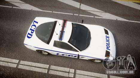 Invetero Coquette Police Interceptor [ELS] para GTA 4