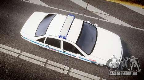Chevrolet Caprice Liberty Police [ELS] para GTA 4 vista direita