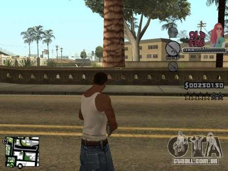 C-HUD Universal v2 para GTA San Andreas quinto tela
