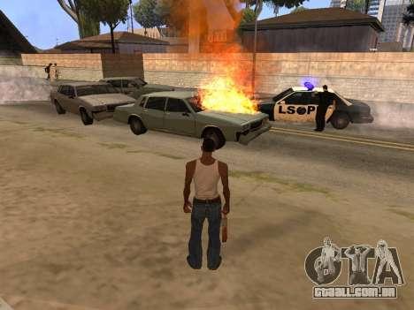 New Realistic Effects 4.0 Full Final Version para GTA San Andreas segunda tela