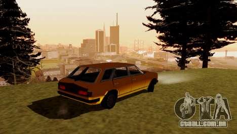 Transporte novo e compra para GTA San Andreas terceira tela