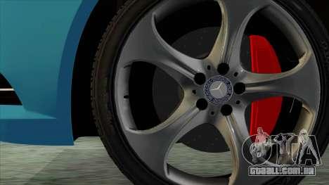 Mercedes-Benz S350 2015 Bluetec para GTA San Andreas traseira esquerda vista