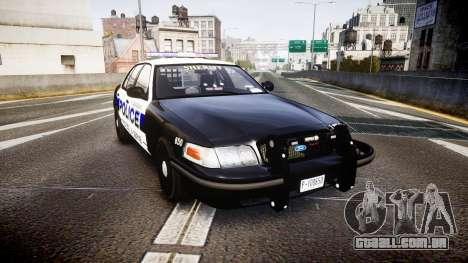 Ford Crown Victoria Police Algonquin [ELS] para GTA 4