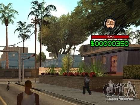 C-HUD by Radion para GTA San Andreas segunda tela