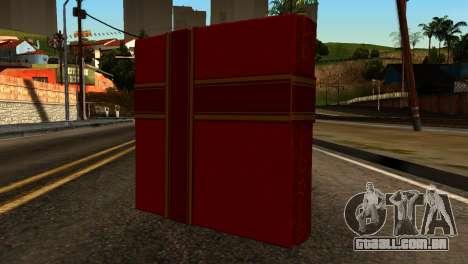 New Year Remote Explosives para GTA San Andreas segunda tela