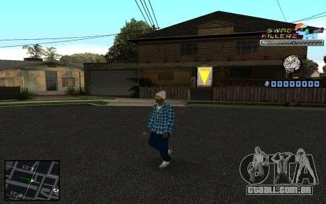 C-HUD SWAG Killerz para GTA San Andreas terceira tela