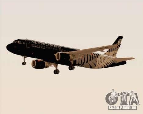 Airbus A320-200 Air New Zealand para GTA San Andreas