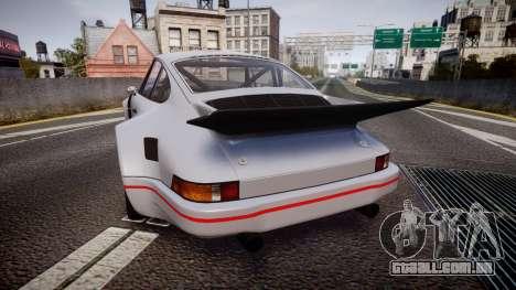 Porsche 911 Carrera RSR 3.0 1974 para GTA 4 traseira esquerda vista