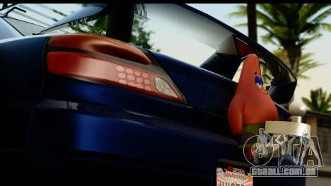 Nissan Silvia S15 Camber Edition para GTA San Andreas vista traseira