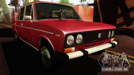 VAZ 2106 Lada v2 para GTA San Andreas vista direita