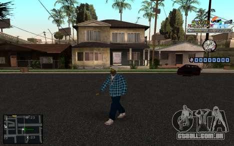C-HUD SWAG Killerz para GTA San Andreas por diante tela