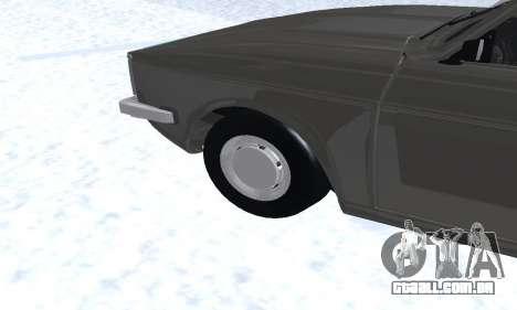 Ikco Peykan Chragh Benzi New para GTA San Andreas vista inferior