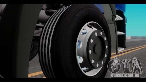 Iveco Eurotech para GTA San Andreas vista traseira
