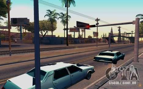 ENB by Dvi v 1.0 para GTA San Andreas segunda tela