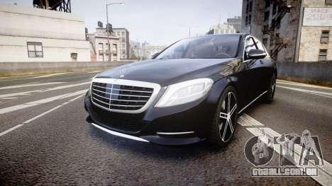 Mercedes-Benz S500 W222 para GTA 4