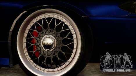Nissan Silvia S15 Camber Edition para GTA San Andreas vista direita