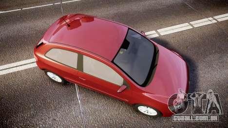 Volkswagen Gol G6 iTrend 2014 rims1 para GTA 4 vista direita