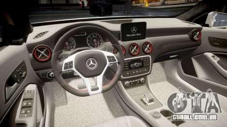 Mersedes-Benz A45 AMG PJs2 para GTA 4 vista lateral