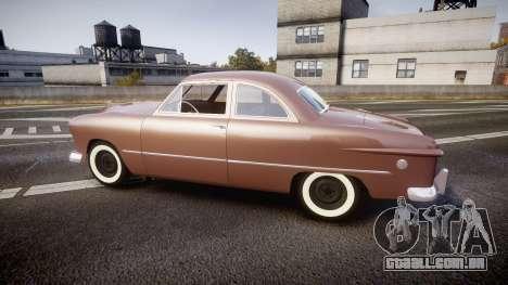 Ford Business 1949 para GTA 4 esquerda vista