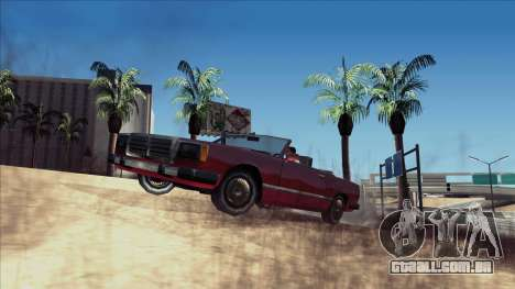 ENB Echo para GTA San Andreas terceira tela