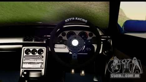 Nissan Skyline R32 Targa para GTA San Andreas vista traseira