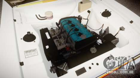 Ford Escort RS1600 PJ94 para GTA 4 vista de volta