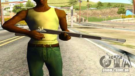 Rifle from GTA 5 para GTA San Andreas terceira tela