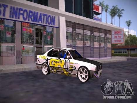 BMW M5 E34 Grip Runners Team para GTA San Andreas
