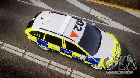 Skoda Octavia Combi vRS 2014 [ELS] Dog Unit para GTA 4 vista direita