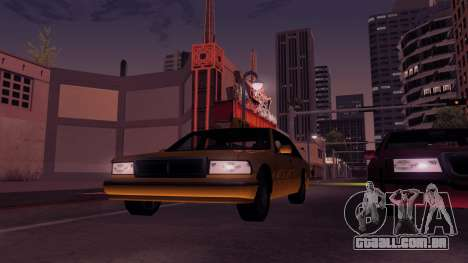 ENB Echo para GTA San Andreas quinto tela