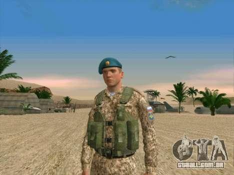 Granadeiro VDV para GTA San Andreas segunda tela