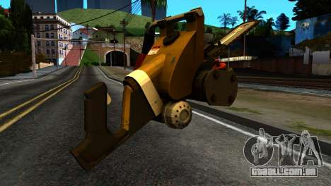 New Chainsaw para GTA San Andreas segunda tela
