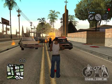 C-HUD Universal v3 para GTA San Andreas terceira tela