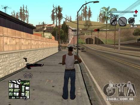 C-HUD Universal v3 para GTA San Andreas segunda tela