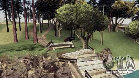 ENB Echo para GTA San Andreas por diante tela