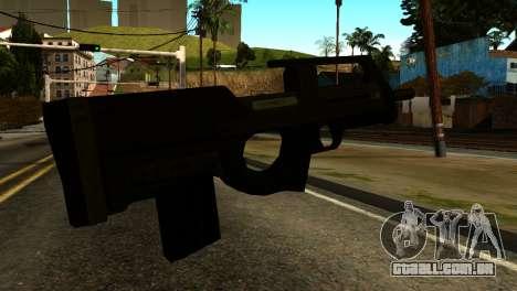 Assault SMG from GTA 5 para GTA San Andreas segunda tela
