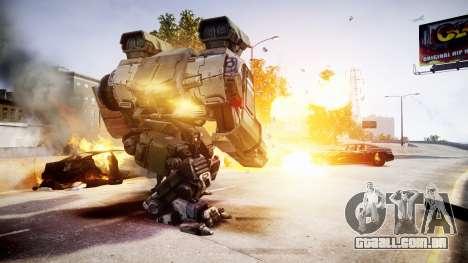 Enhanced Power Armor para GTA 4 por diante tela