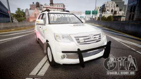 Toyota Hilux SW4 2014 Ronda PMCE [ELS] para GTA 4
